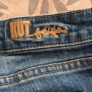 Kut from the Kloth Shorts - Distressed jean shorts